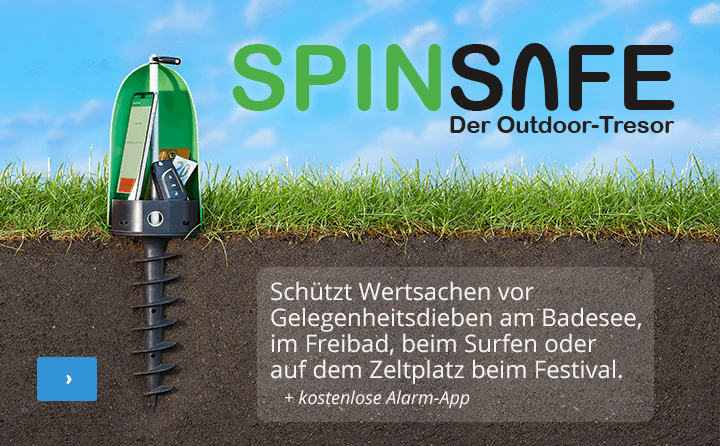Spinsafe – Der Outdoor-Tresor